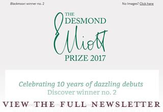 Desmond Elliott Prize enewsletter