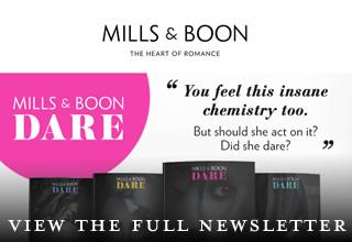 Mills & Boon enewsletter