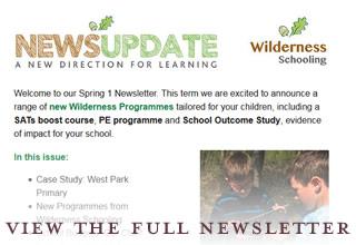 Wilderness Schooling enewsletter